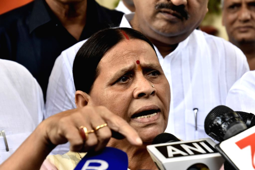 Rabri Devi (File Photo: IANS)