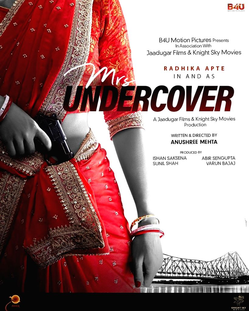 Radhika Apte to star in spy entertainer 'Mrs. Undercover'.