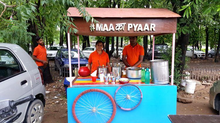 Radhika Arora serves home-style food from a cart in Mohali - Radhika Arora