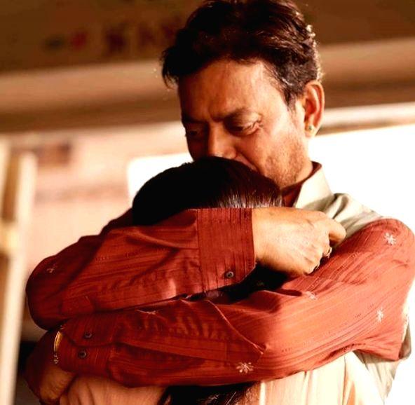 Radhika Madan's emotional message for on-screen dad Irrfan Khan. - Irrfan Khan
