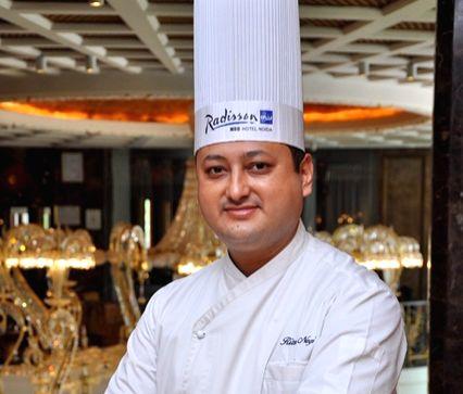 Radisson Blu MBD Hotel, Noida Executive Chef Ritesh Negi.
