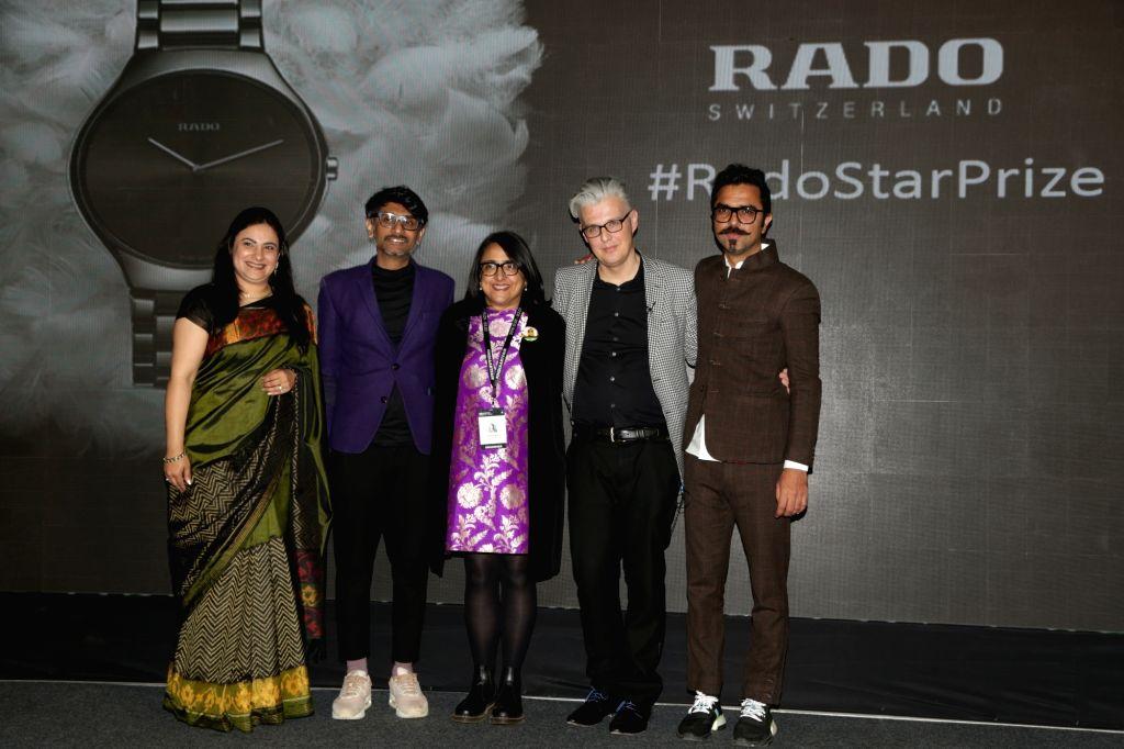 Rado announces the Rado Star Prize India 2019 at India Art Fair 2019, in New Delhi, on 31 Jan, 2019.