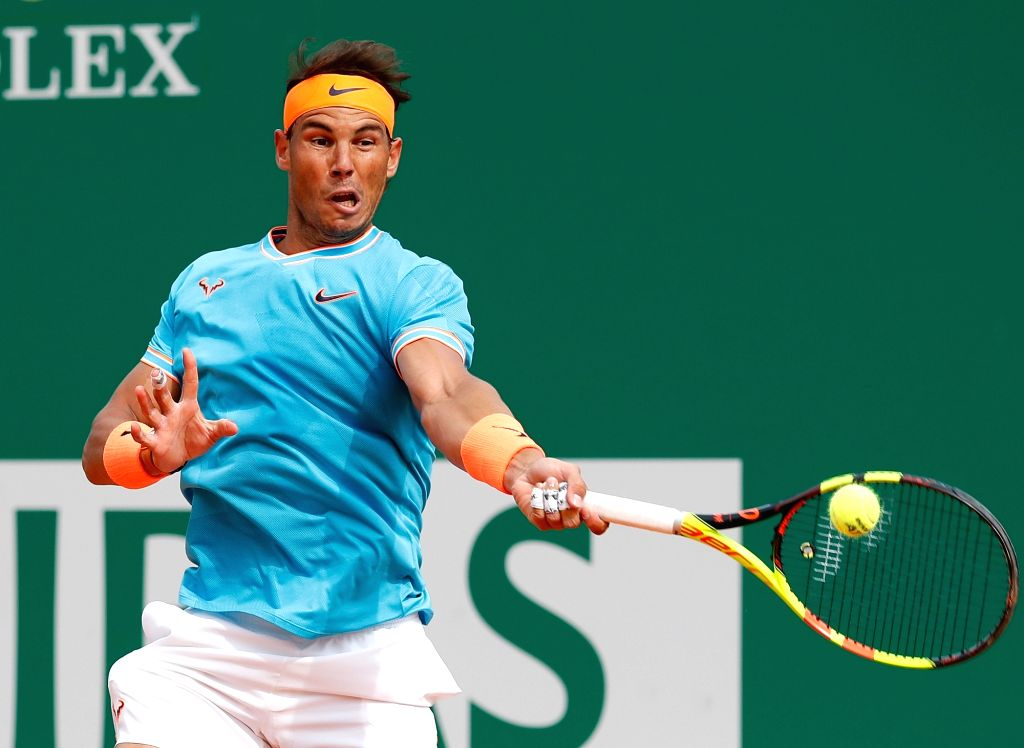 Rafael Nadal. (Xinhua/Nicolas Marie/IANS)