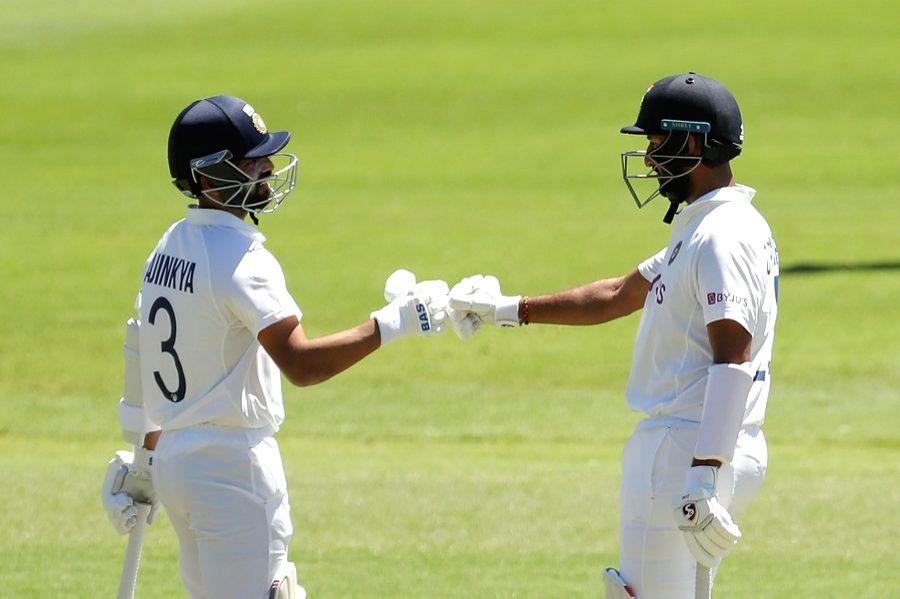 Rahane, Pujara amongst runs on opening day of warm-up game
