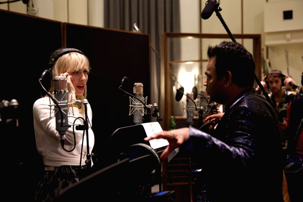 Rahman, 'We are the world' creator team up for project on climate change.