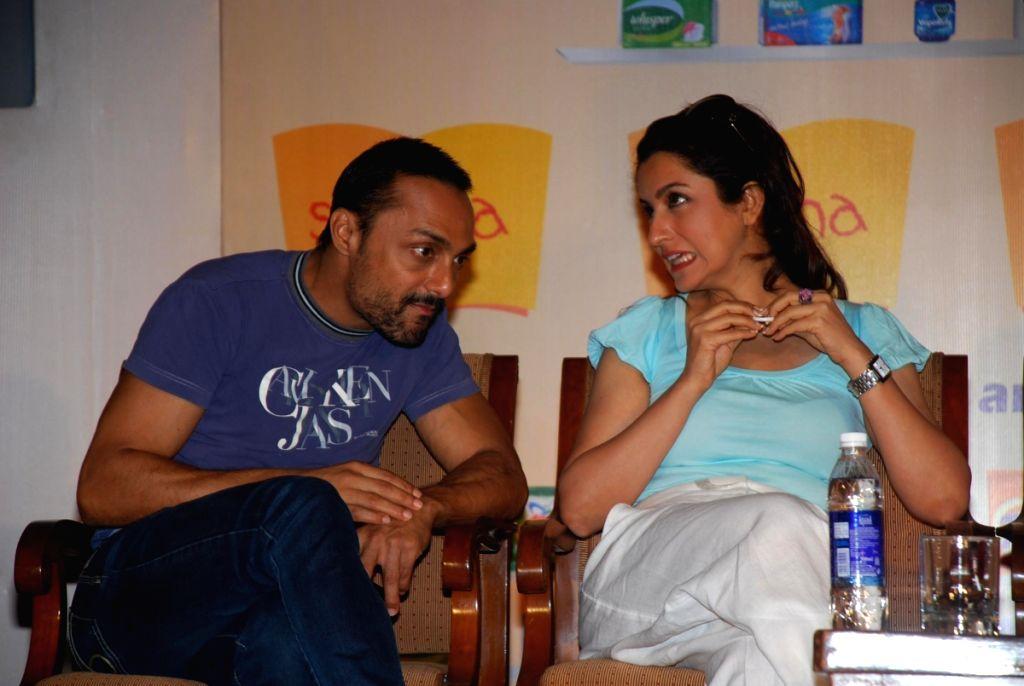 Rahul Bose and Tisca Choprai at Shiksha Walkathon, Taj Land's End. - Rahul Bose and Tisca Chopra