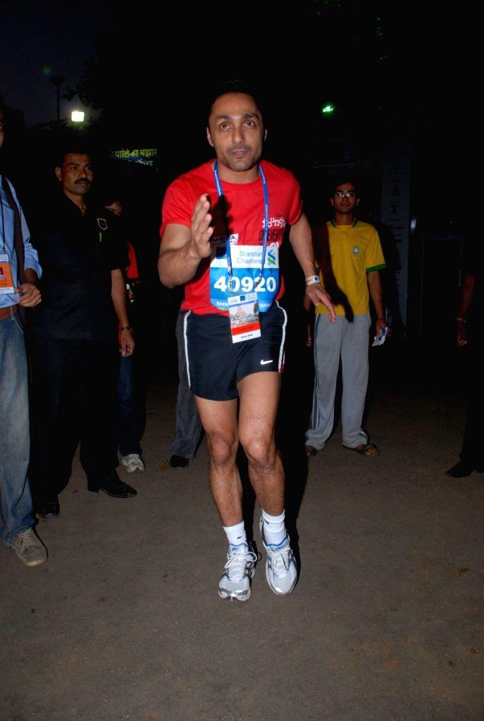 Rahul Bose at Marathon High Res in Mumbai.