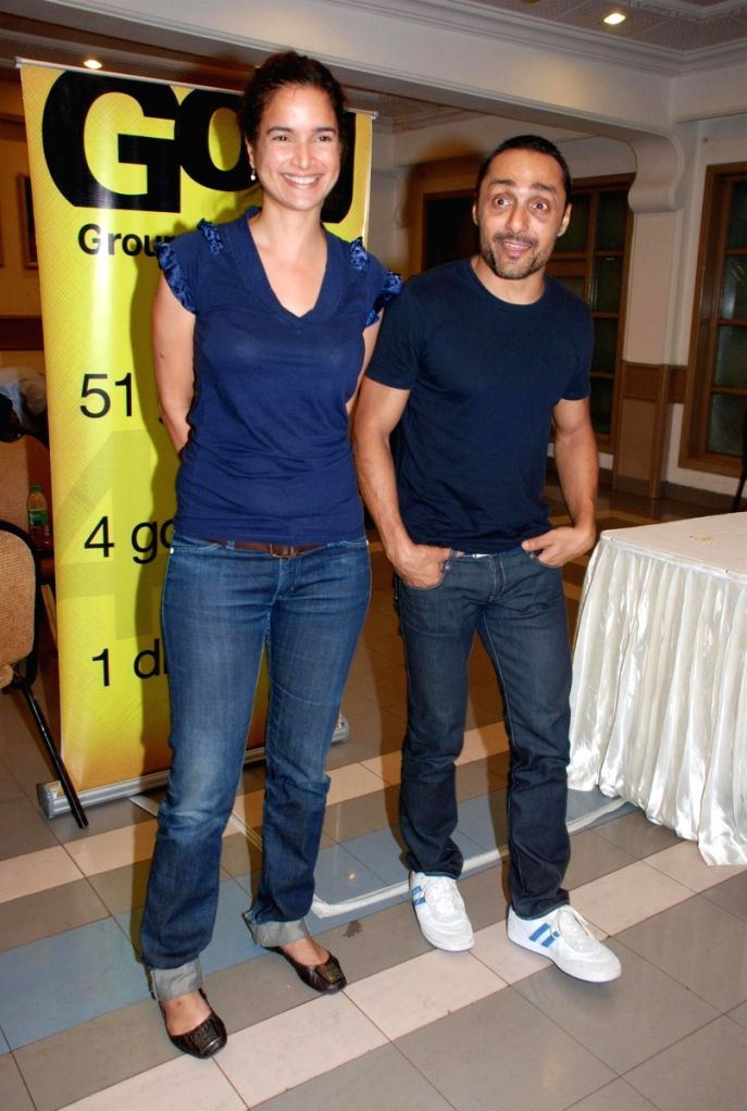 Rahul Bose & Sushma Reddy at the GOG Ngo event.