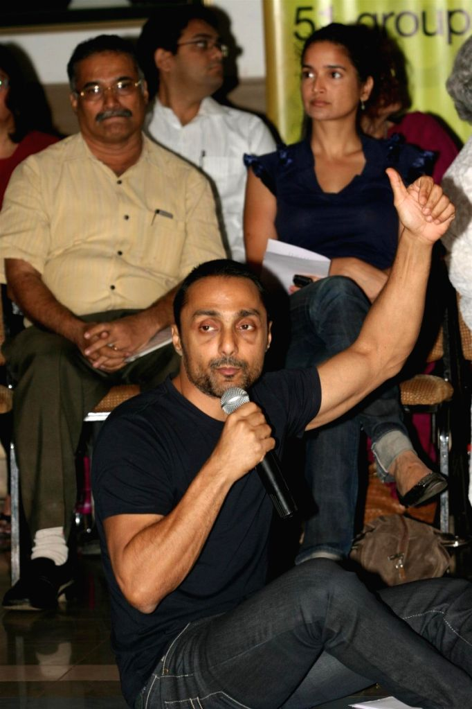 Rahul Bose & Sushma Reddy at the GOG Ngo event. - Rahul Bose