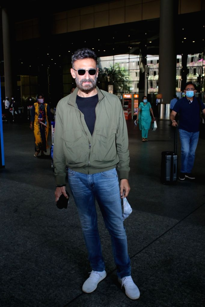 Rahul Dev spotted at airport arrival on Monday 08th March, 2021. - Rahul Dev