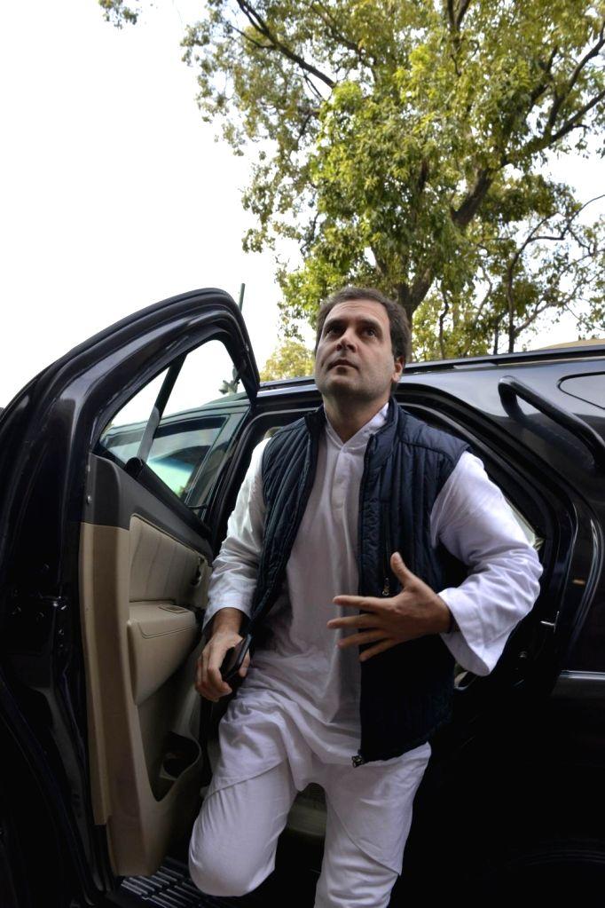 Rahul Gandhi.(Photo: IANS) - Rahul Gandhi