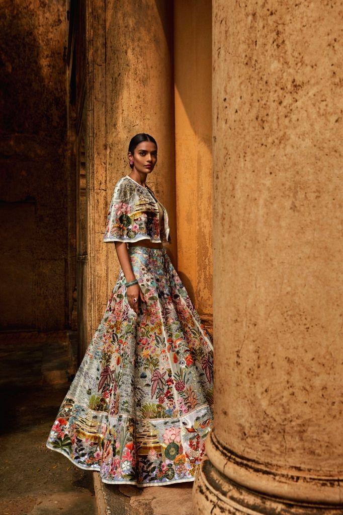 Rahul Mishra's Opulence with Responsibility. (Photo: India Couture Week) - Rahul Mishra
