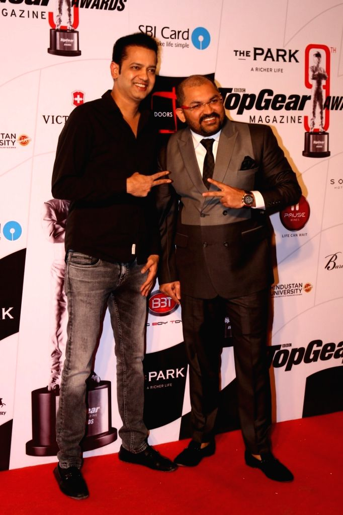 Rahul Pramod Mahajan during the 9th Topgear Magazine Awards in Mumbai on Jan 25, 2017. - Rahul Pramod Mahajan