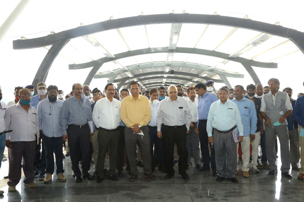 Railway board chief inspects new terminal in Bengaluru