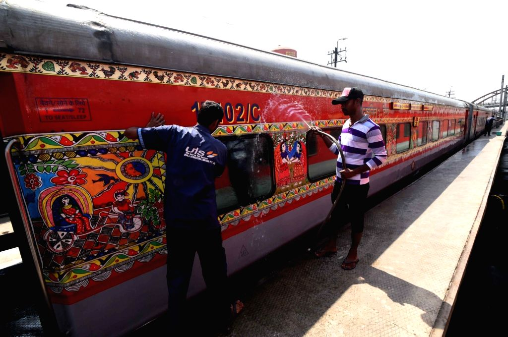 Railways cancels 85 trains over COVID-19 crisis (Lead)