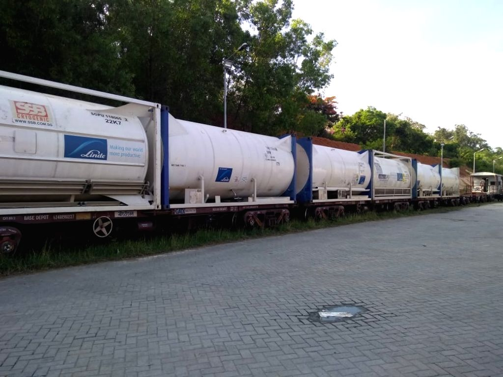 Railways ferry 349 tonnes more oxygen to Covid-hit Karnataka