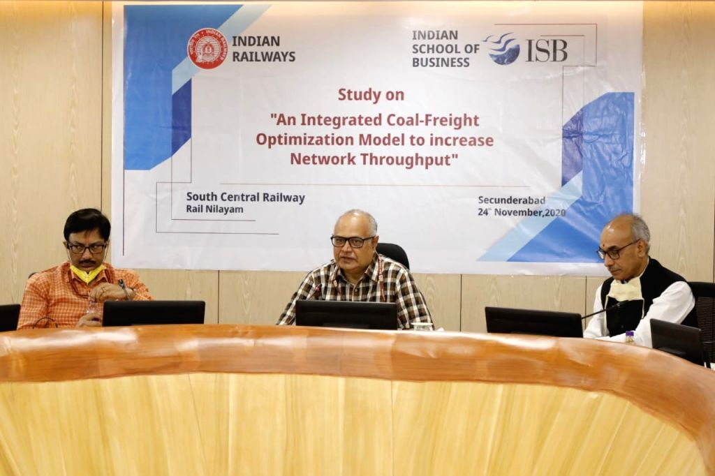 Railways partners with ISB for study on coal-freight optimization model.