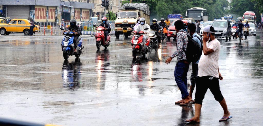 Rain in Kolkata on Saturday, 19 June, 2021.