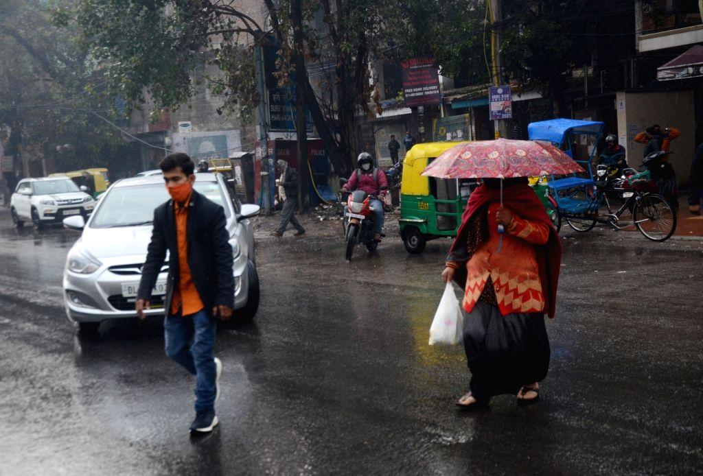 Rain likely in Delhi between Feb 3-5: IMD (Photo: Bidesh Manna/IANS)