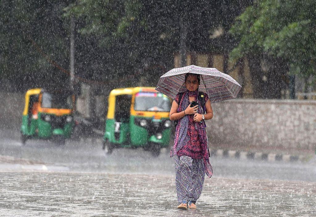 Rains lash Bengaluru on Aug 1, 2018.
