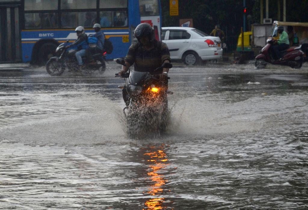 Rains lash Bengaluru on Aug 19, 2017.