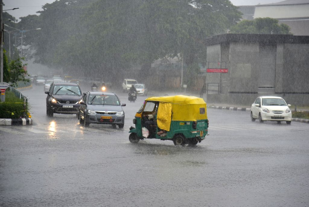 Rains lash Bengaluru on July 10, 2018.