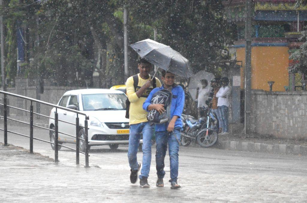 Rains lash in Bengaluru, on Friday March 20, 2020