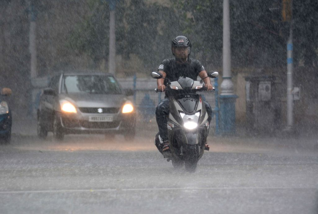 Rains lash Kolkata on July 16, 2019.