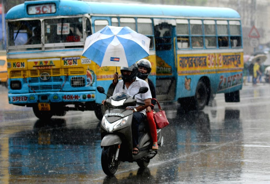 Rains lash Kolkata on Sep 7, 2019.