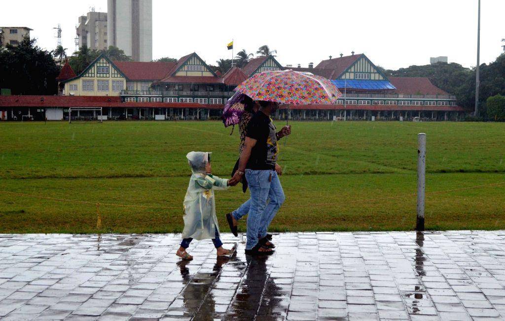 Rains lash Mumbai on Aug 20, 2017.