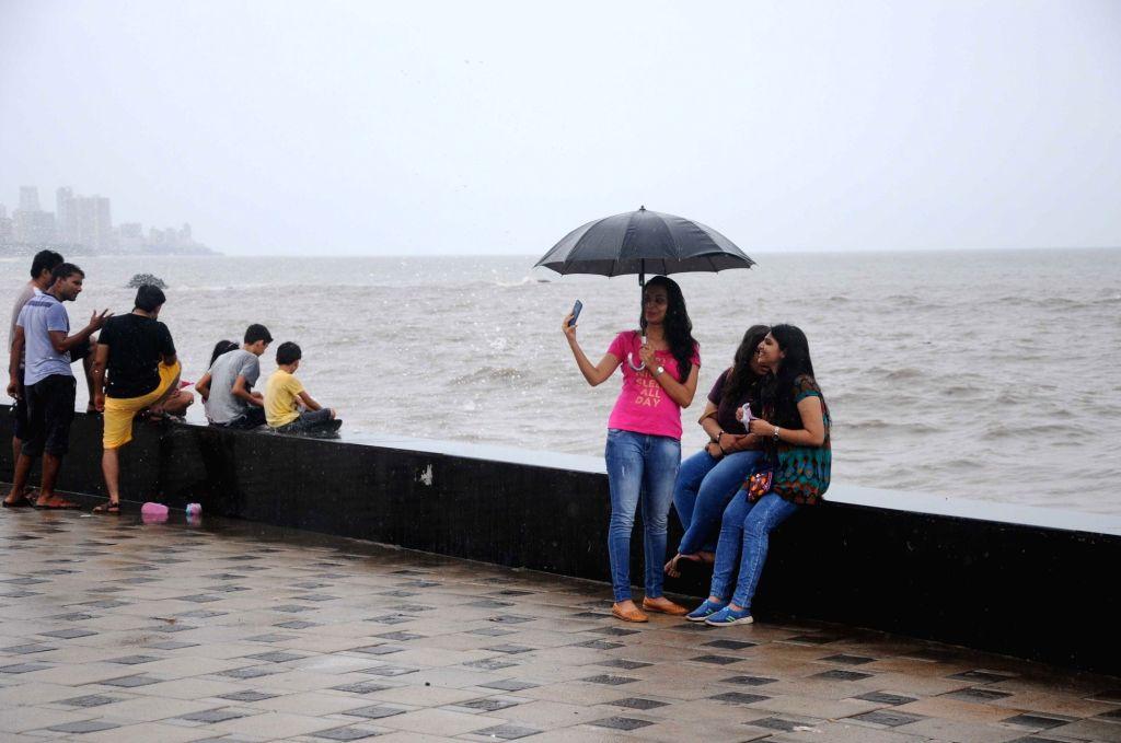 Rains lash Mumbai on June 11, 2017.