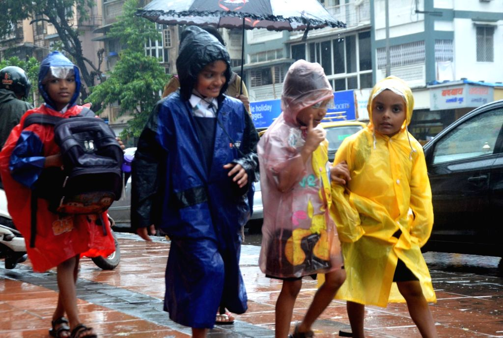 Rains lash Mumbai, on June 27, 2017.