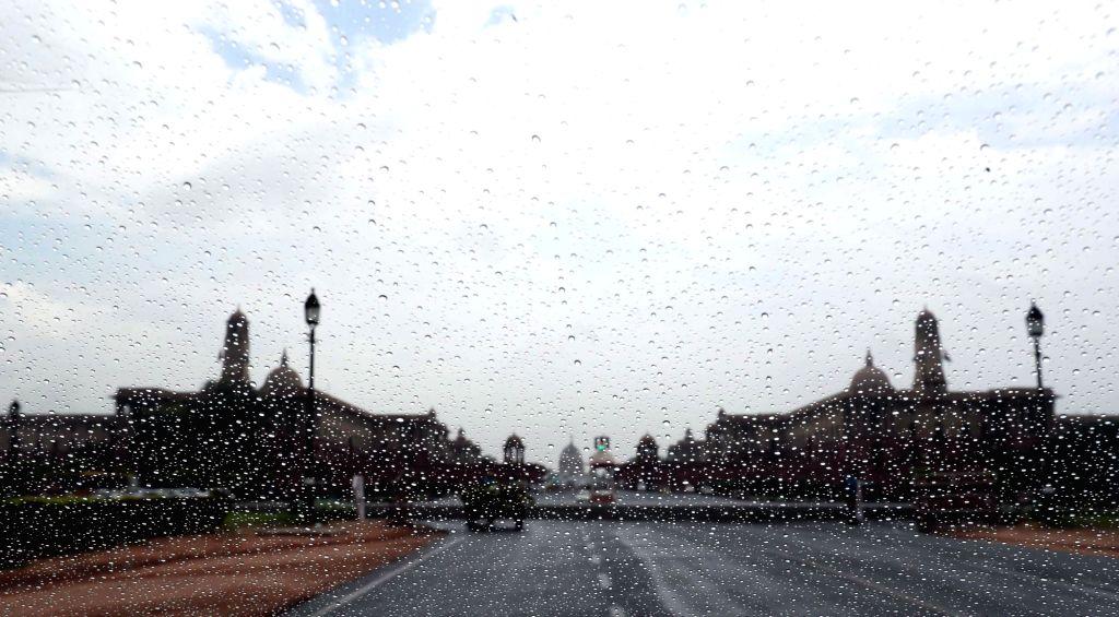 Rains lash New Delhi on June 24, 2020.