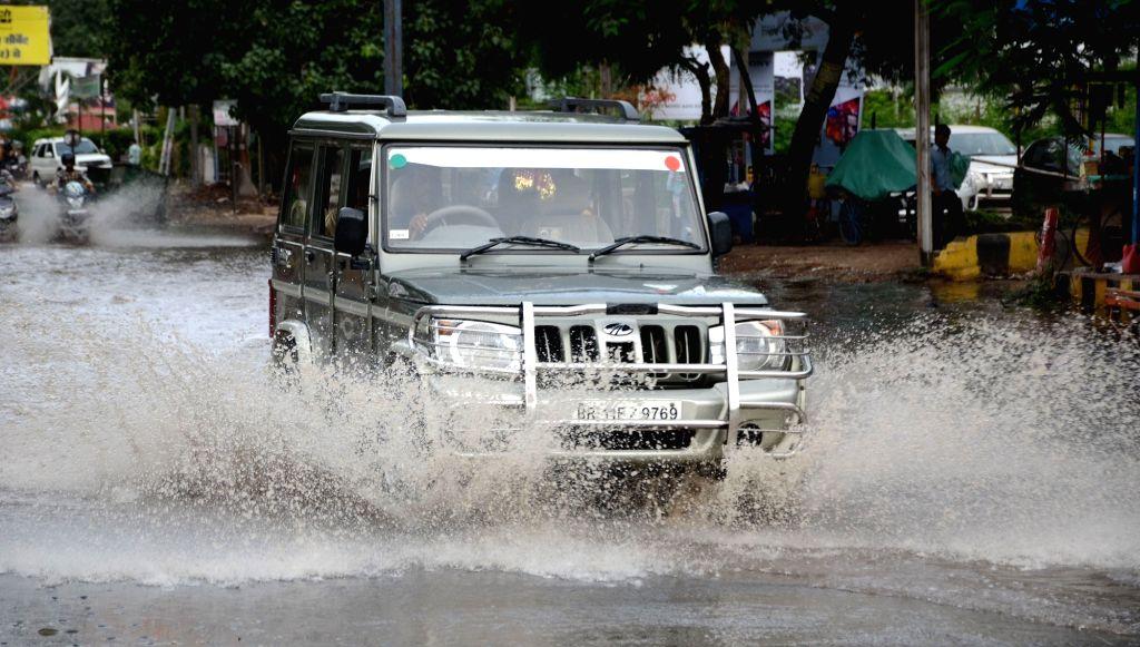Rains lash Patna on July 3, 2016.3