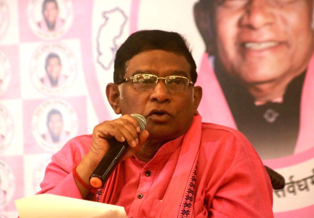 Raipur, May 29 (IANS) Chhattisgarh's first Chief Minister Ajit Jogi succumbed to cardiac arrest in a hospital here on Friday, doctors said. He was 74. (File Photo: IANS) - Ajit Jogi