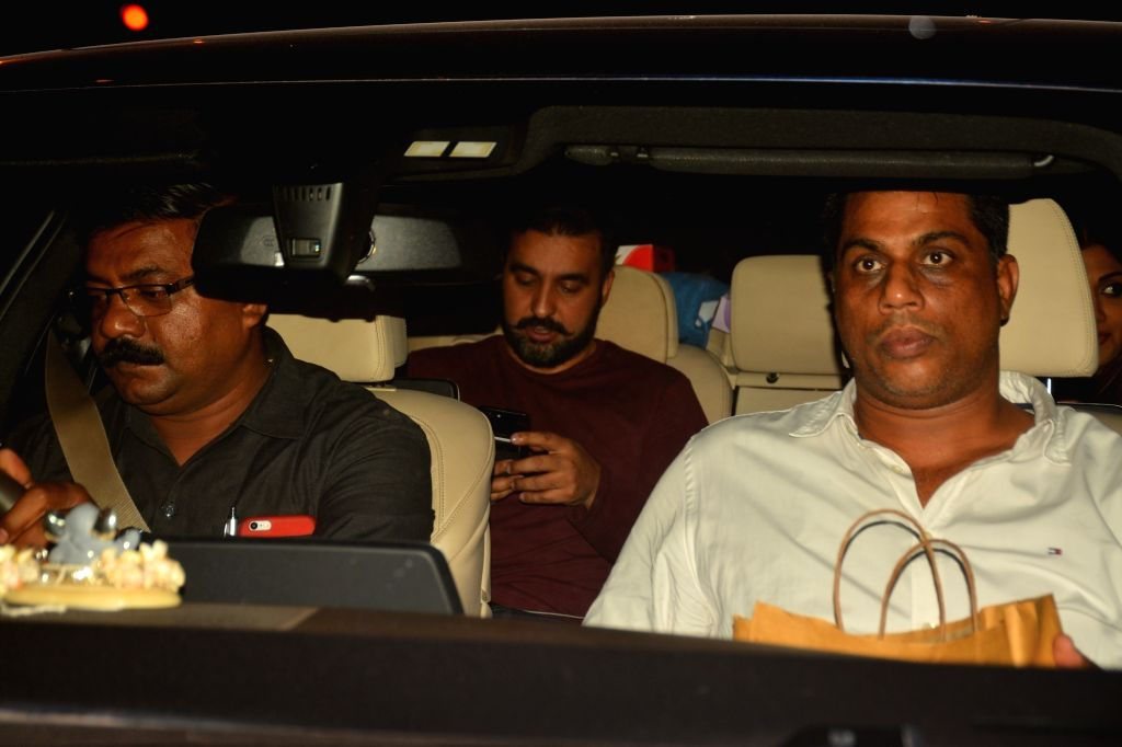 Raj Kundra seen at a restaurant in Mumbai's Bandra on Oct 5, 2018. - Raj Kundra