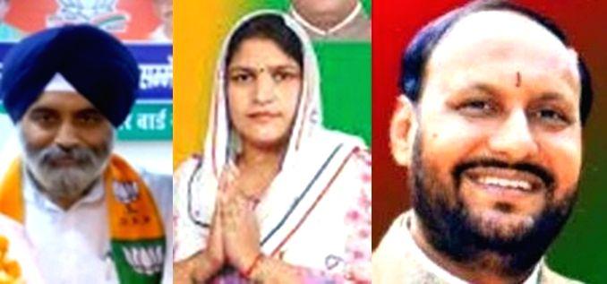 Raja Iqbal Singh, Kiran Vaidya, Pawan Sharma. - Iqbal Singh and Pawan Sharma