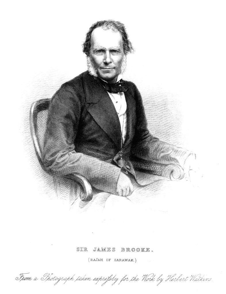Rajah James Brooke in later life
