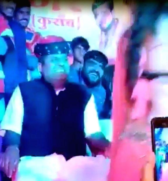 Rajasthan BJP leader's purported obscene dance video goes viral.