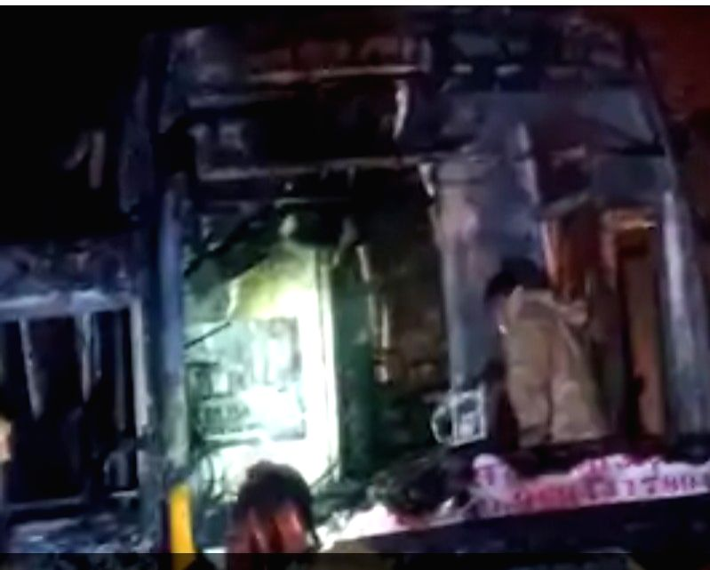 Rajasthan bus accident