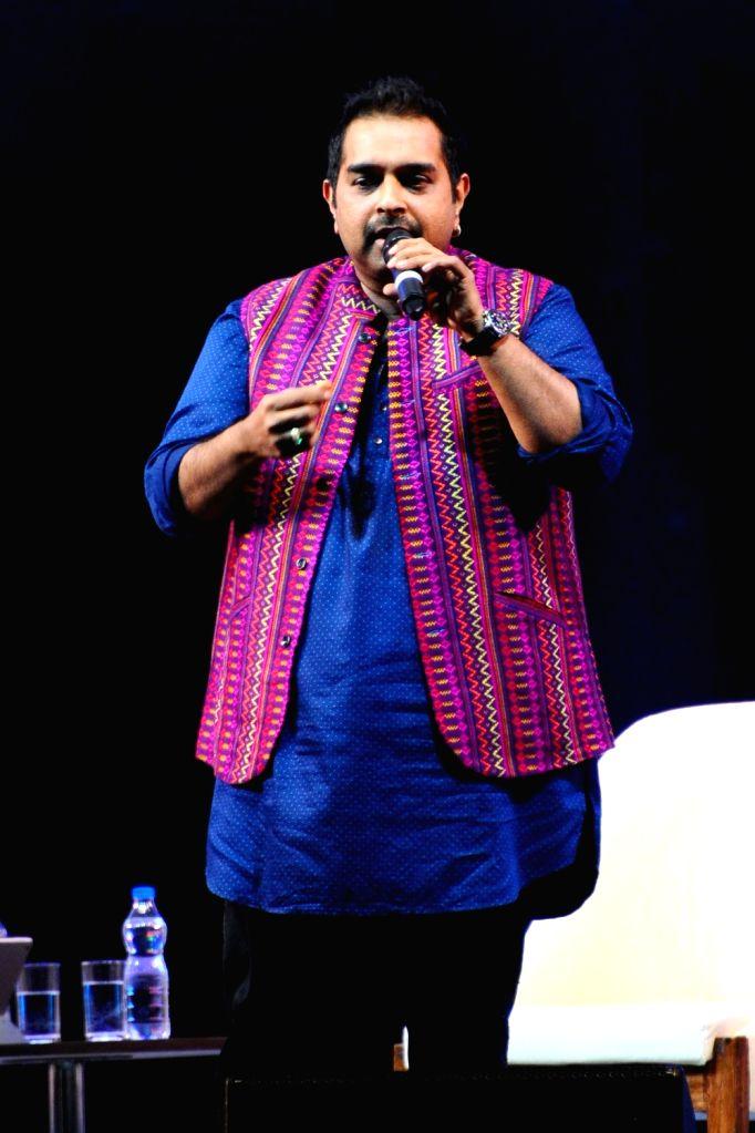 "Rajasthan Chief Minister Vasundhara Raje, United Arab Emirates (UAE) Minister of Culture Sheikh Nahyan bin Mubarak Al Nahyan and Sahara Group chief Subrata Roy during ""The Festival of ... - Vasundhara Raje, Sheikh Nahyan and Subrata Roy"