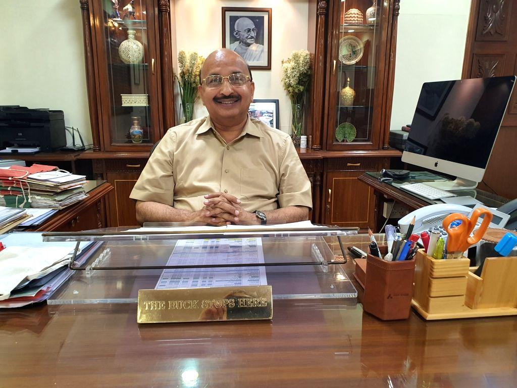 Rajasthan Chief Secretary DB Gupta.