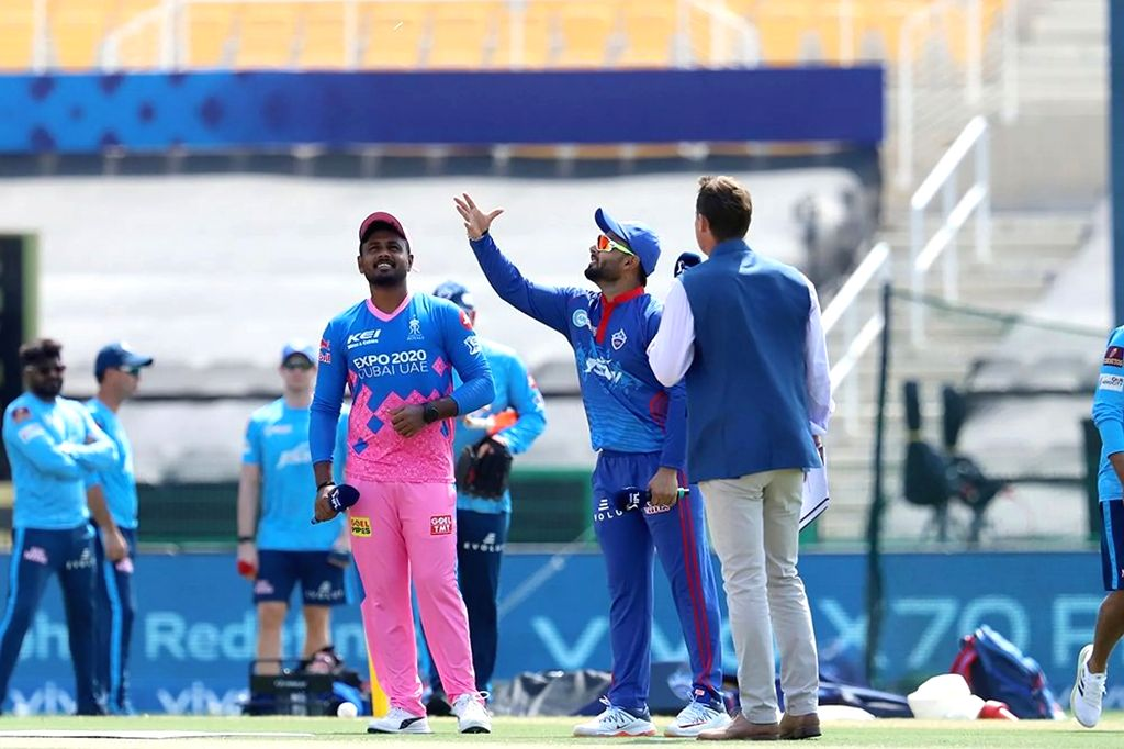 Rajasthan Royals win toss, elect to field against Delhi Capitals.(photo:IPL/Not for sale)