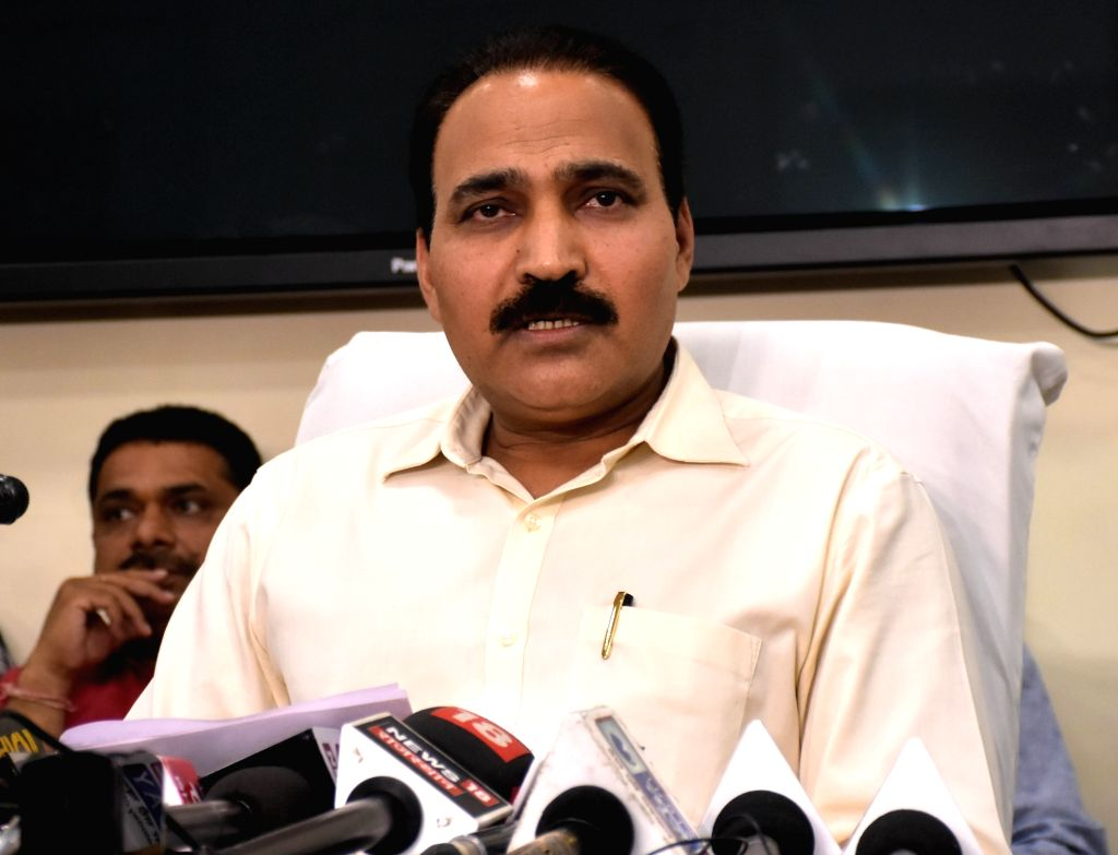 Rajasthan's Chief Election Officer Anand Kumar addresses a press conference in Jaipur, on March 10, 2019.
