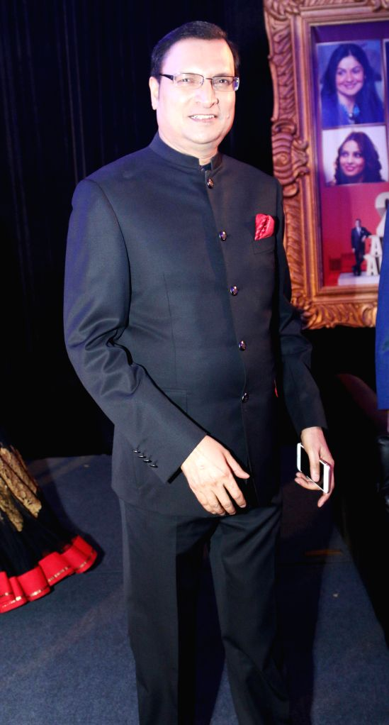Rajat Sharma, Chairman and Editor in Chief of India TV during Aap Ki Adalat's 21st anniversary celebrations in New Delhi on Dec 2, 2014. - Rajat Sharma
