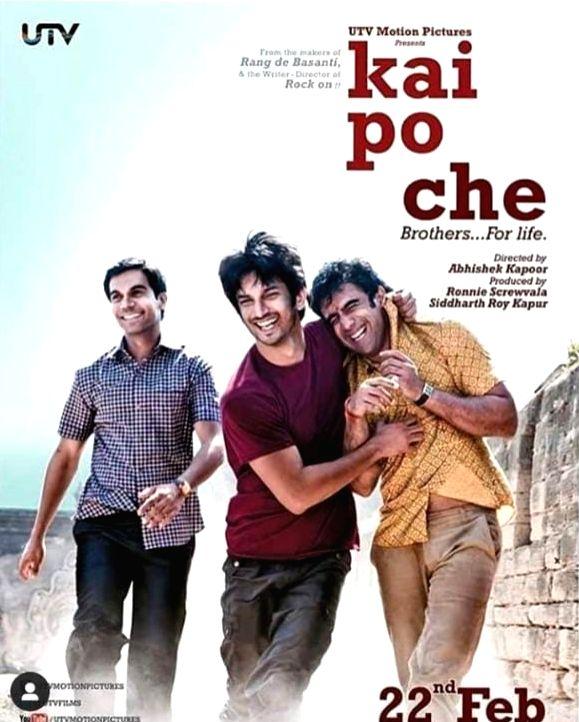 Rajkummar Rao misses Sushant Singh Rajput as 'Kai Po Che' turns 8. - Rajkummar Rao and Sushant Singh Rajput