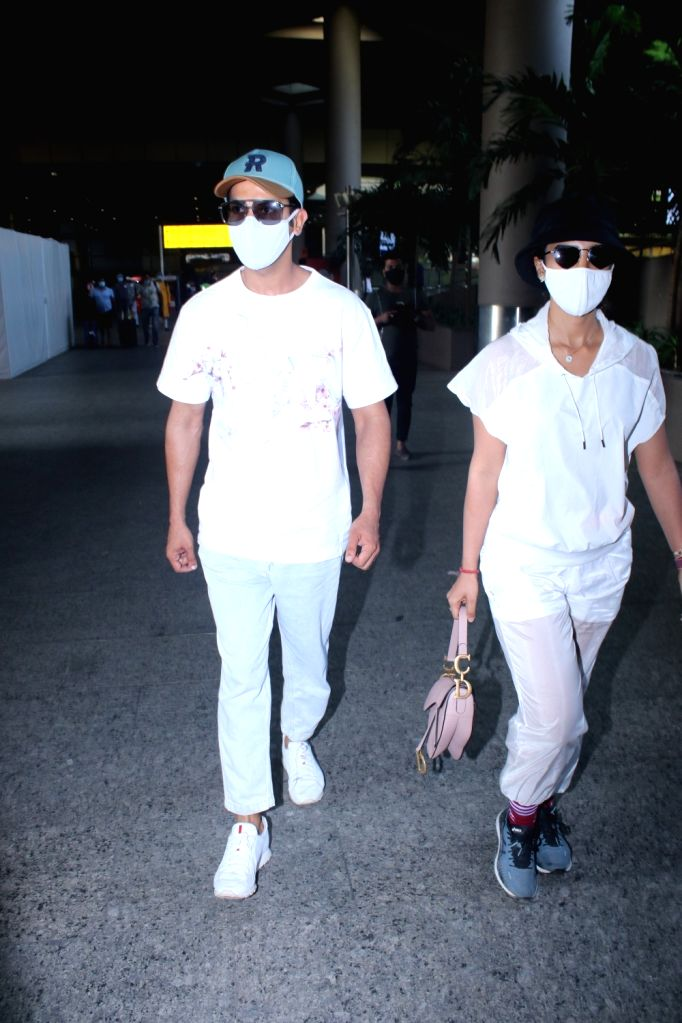 Rajkummar Rao & Patralekha Spotted at Airport Arrival on Monday 08th March, 2021. - Rajkummar Rao