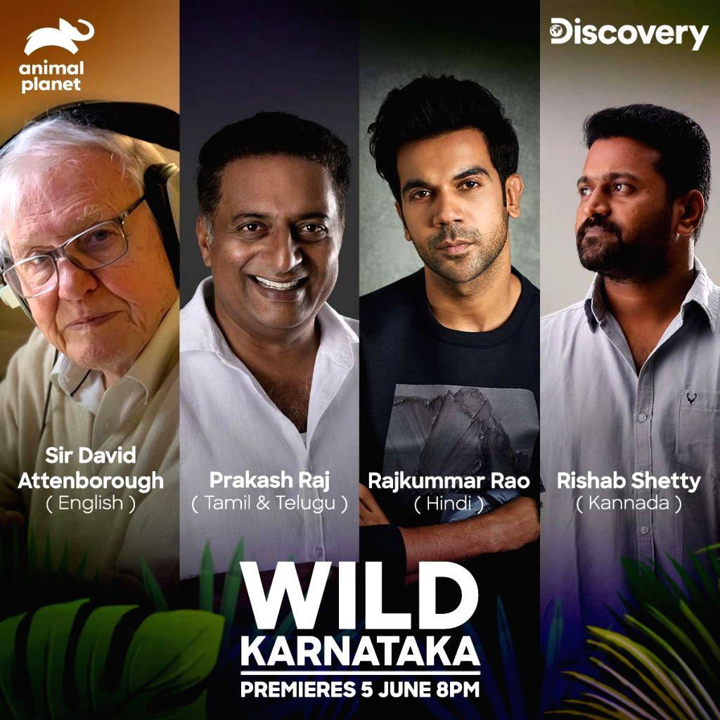 Rajkummar Rao, Prakash Raj join Sir David Attenborough to celebrate India's wildlife. - Rajkummar Rao