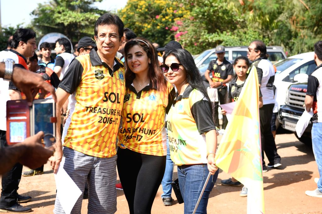Raju V Manwani Host The Treasure Hunt in Mumbai on April 16, 2017.