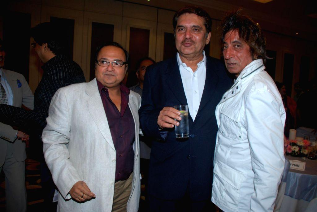 Rakesh Bedi, Raza Murad and Shakti Kapoor at Roshan Taneja's Birthday. - Rakesh Bedi